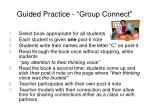 guided practice group connect