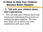 10 ways to help your children become better readers3
