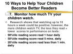 10 ways to help your children become better readers8
