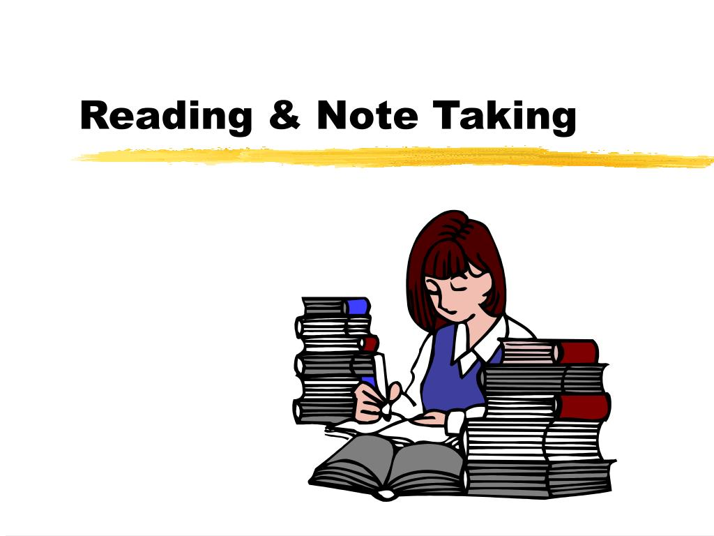 Reading & Note Taking