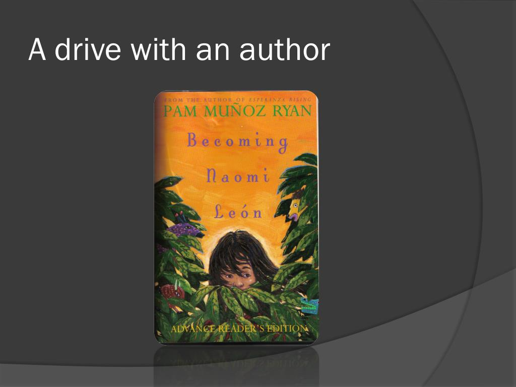 A drive with an author
