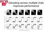 decoding across multiple trials improves performance