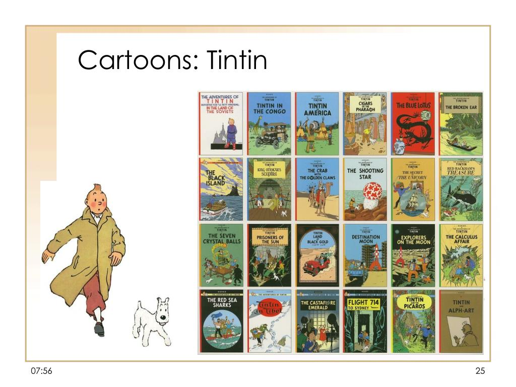 Cartoons: Tintin
