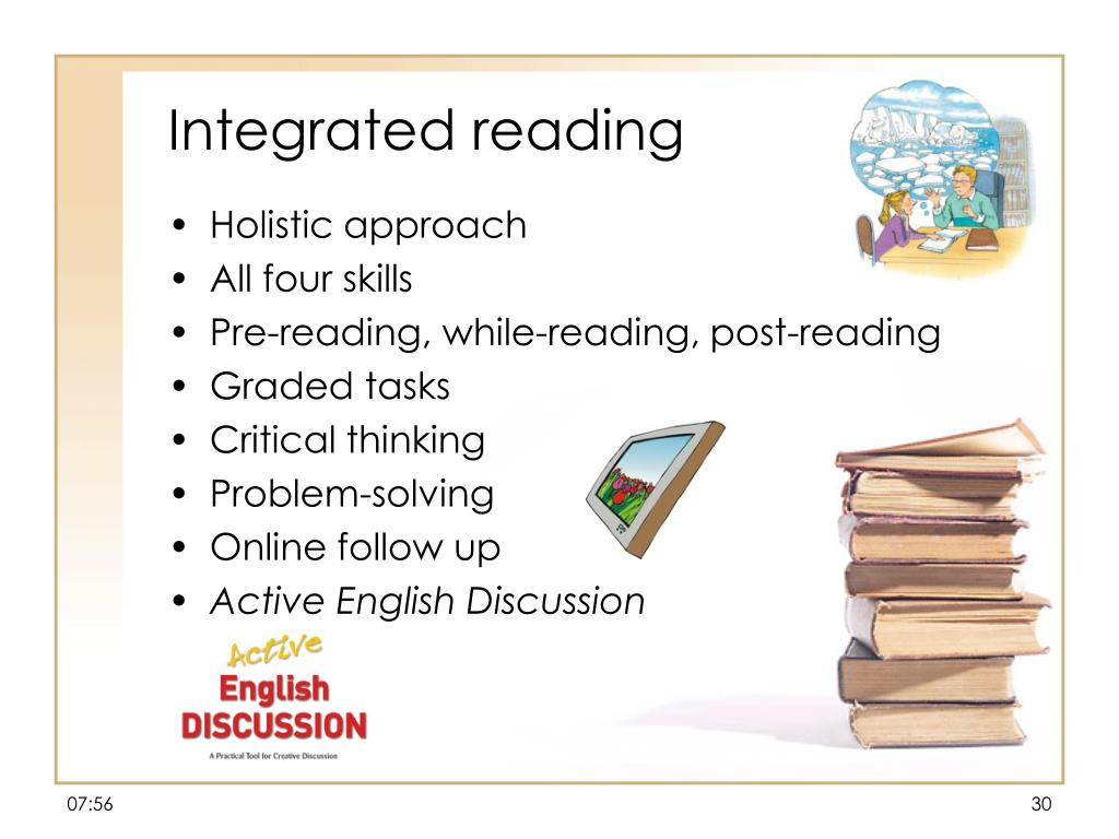 Integrated reading
