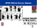 nfhs official soccer signals