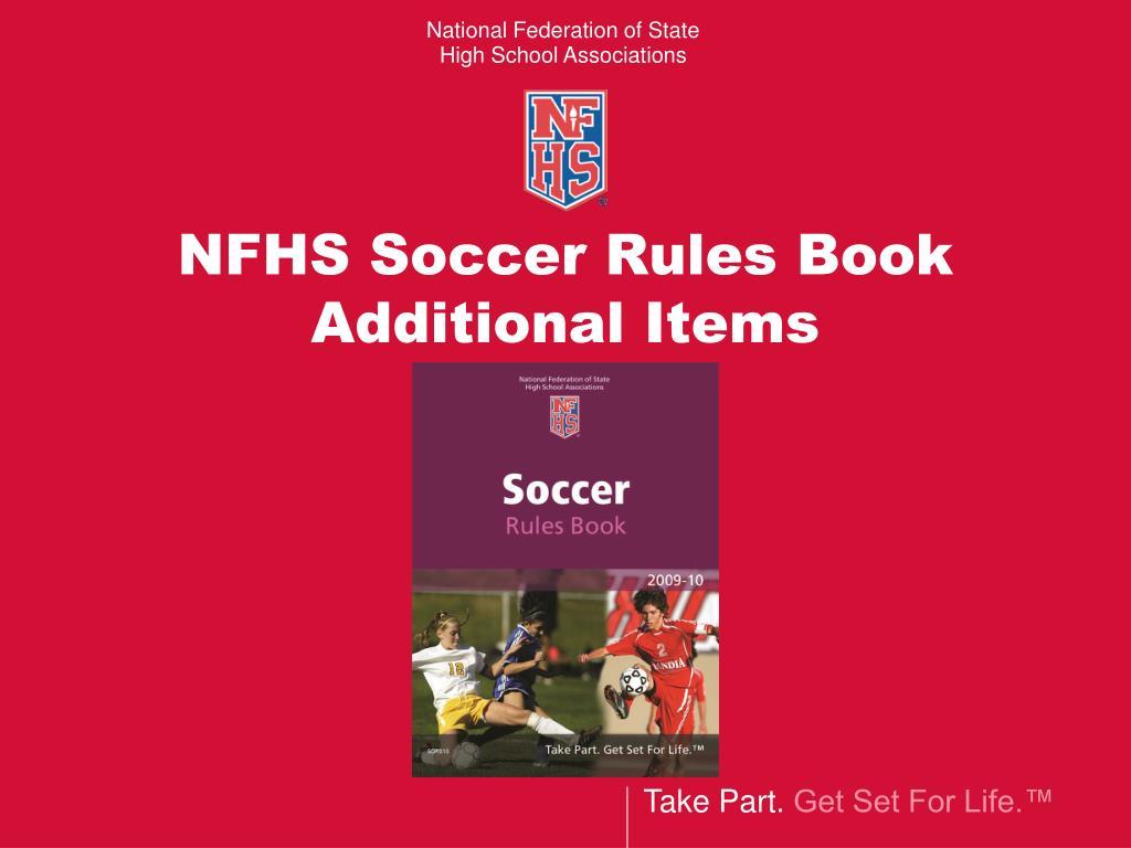 NFHS Soccer Rules Book