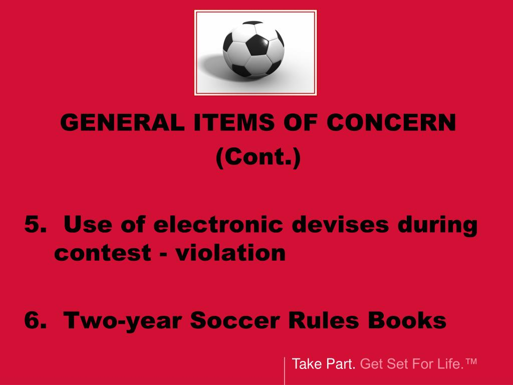 GENERAL ITEMS OF CONCERN