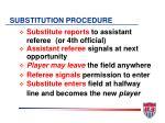 substitution procedure