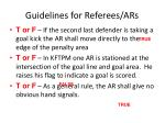 guidelines for referees ars19