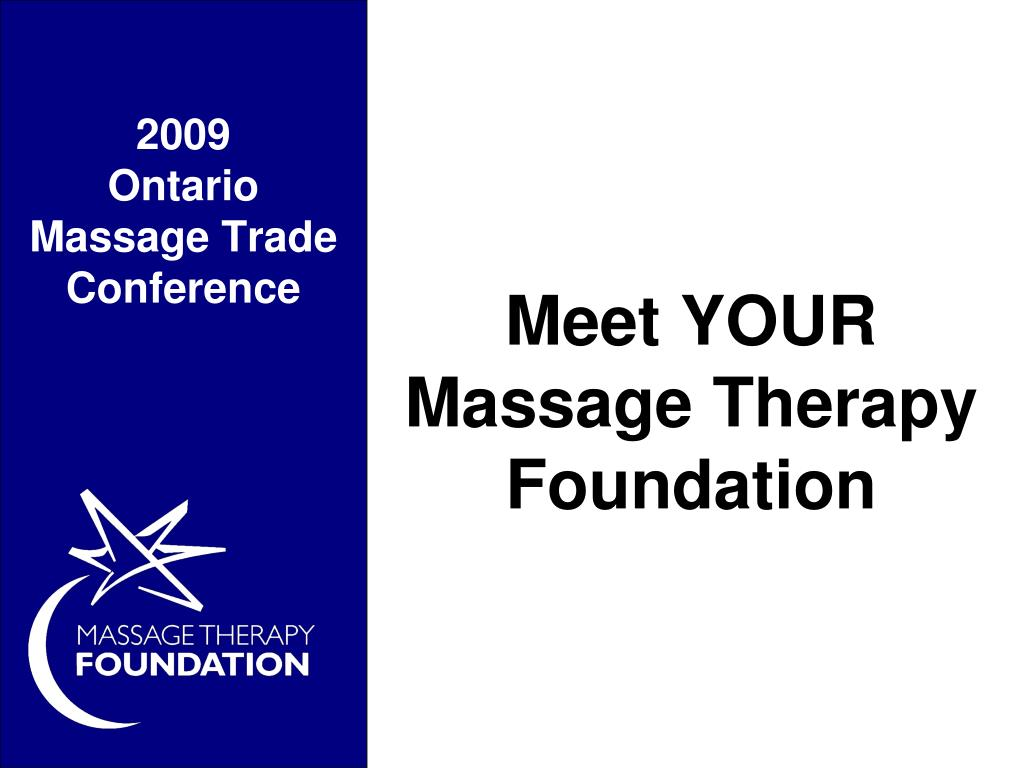 meet your massage therapy foundation l.