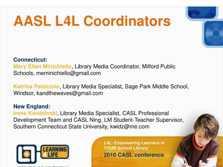 Aasl l4l coordinators