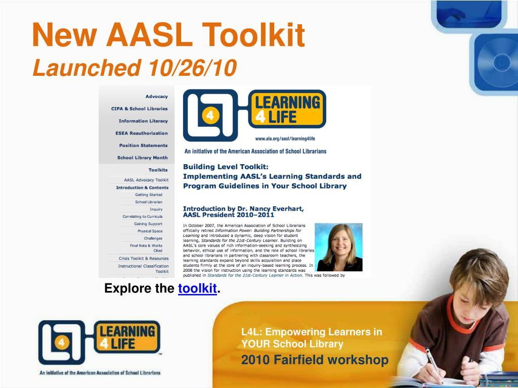 New AASL Toolkit