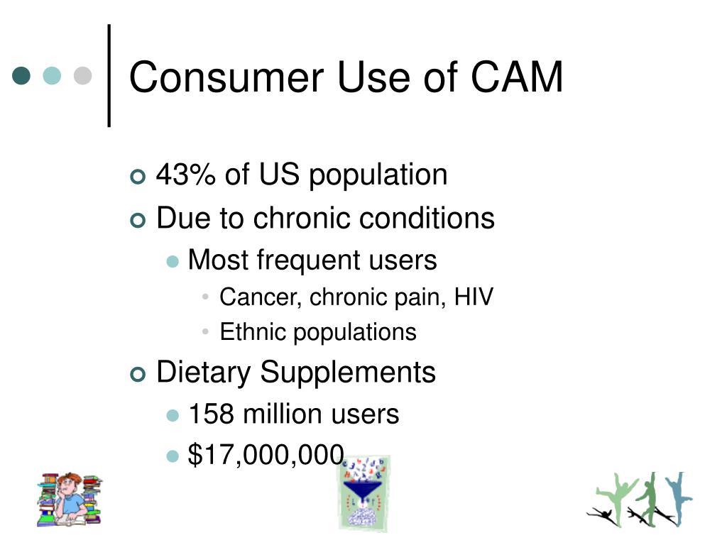 Consumer Use of CAM
