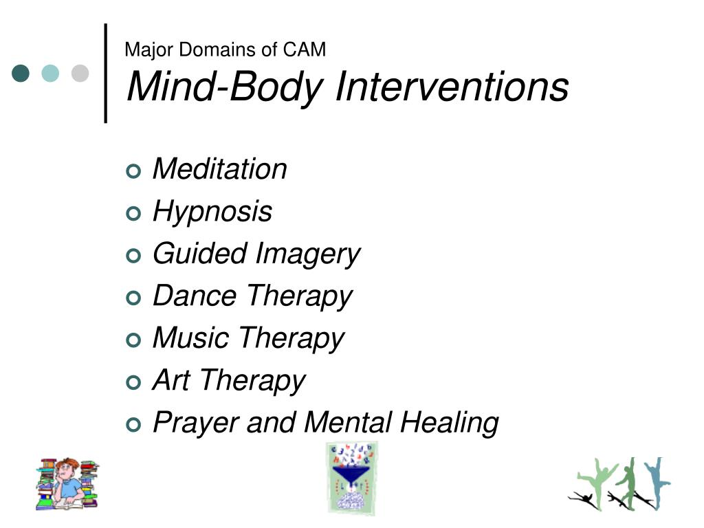 Major Domains of CAM