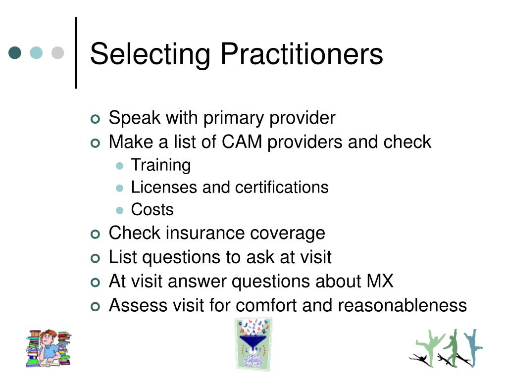 Selecting Practitioners
