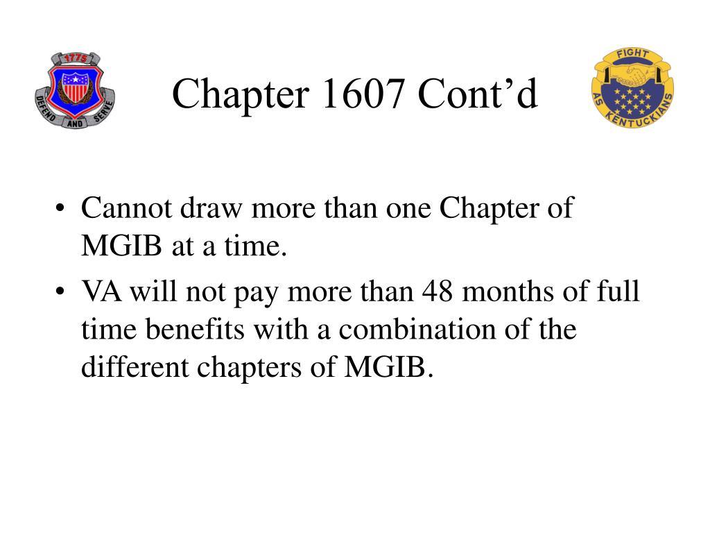 Chapter 1607 Cont'd