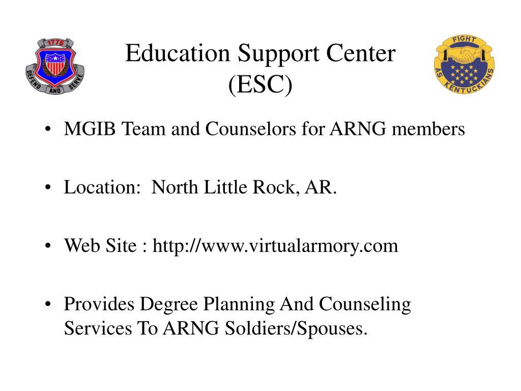 Education Support Center (ESC)