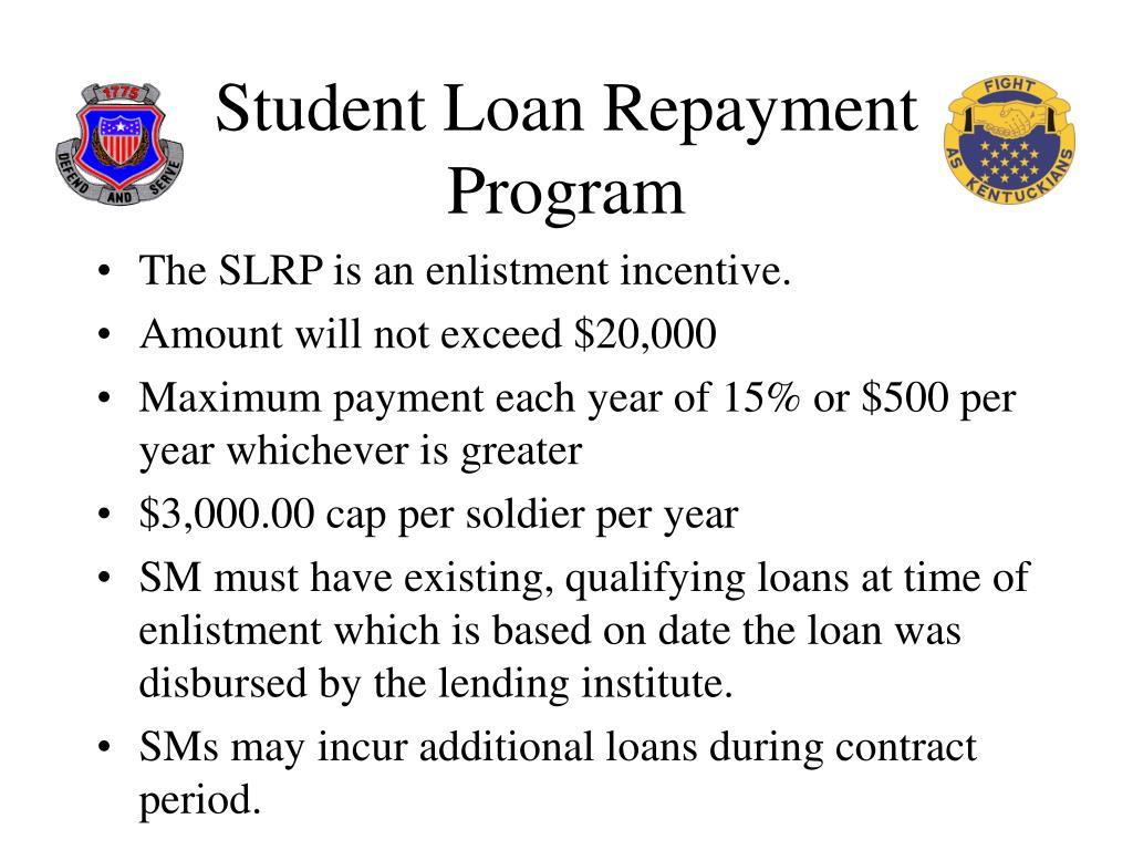 Student Loan Repayment Program