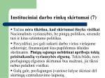 instituciniai darbo rink skirtumai 7