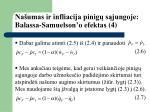 na umas ir infliacija pinig s jungoje balassa samuelson o efektas 4