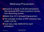 wellness prevention69