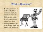what is quackery