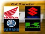 world competitors
