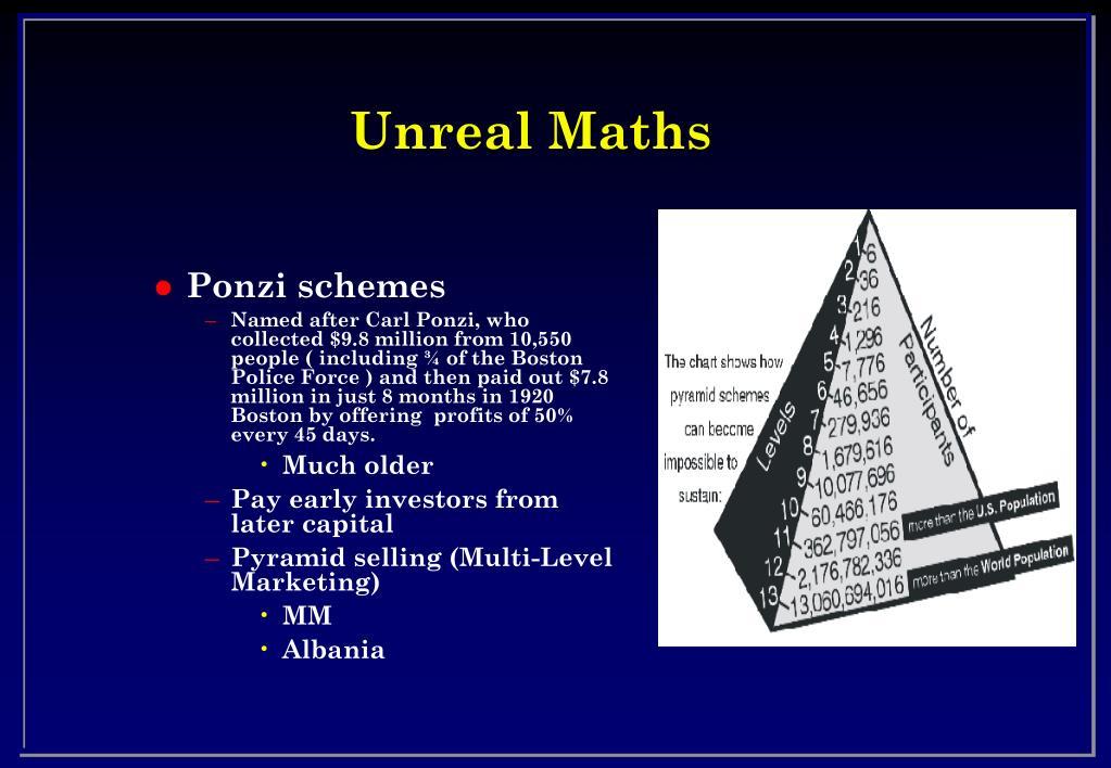 Unreal Maths