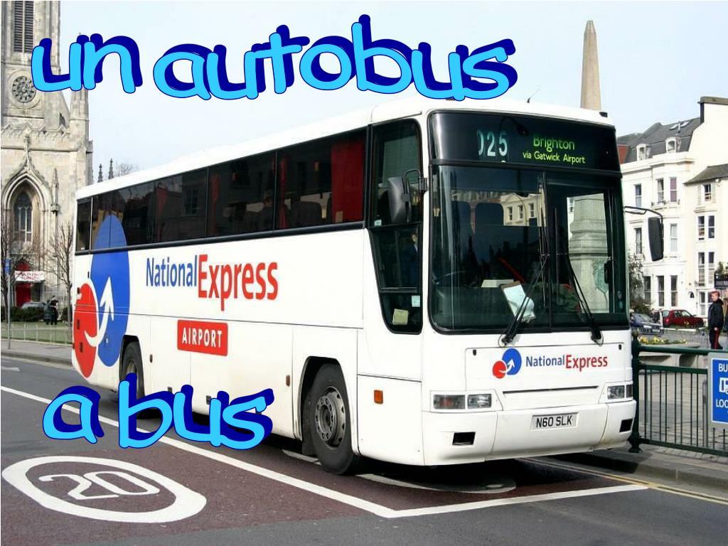 un autobus