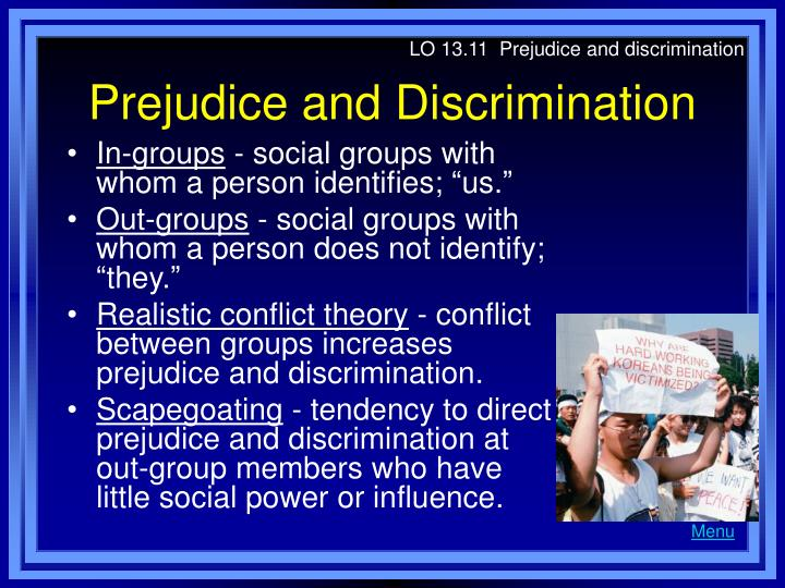 examining prejudice and discrimination in singapore In institutionalized corporate discrimination cases, examining the corporate culture of prejudice separately from the corporate policies of denying equal opportunity or allowing a hostile, racist or sexist environment, can help to identify causative factors and to develop corrective actions that are more.