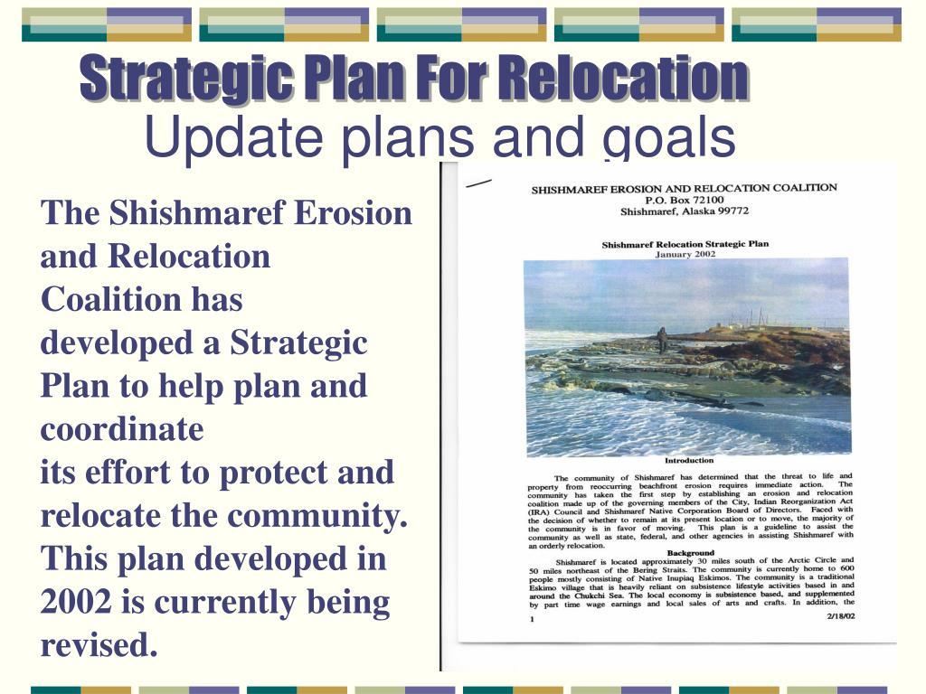 Strategic Plan For Relocation
