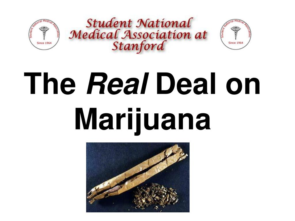 the real deal on marijuana l.