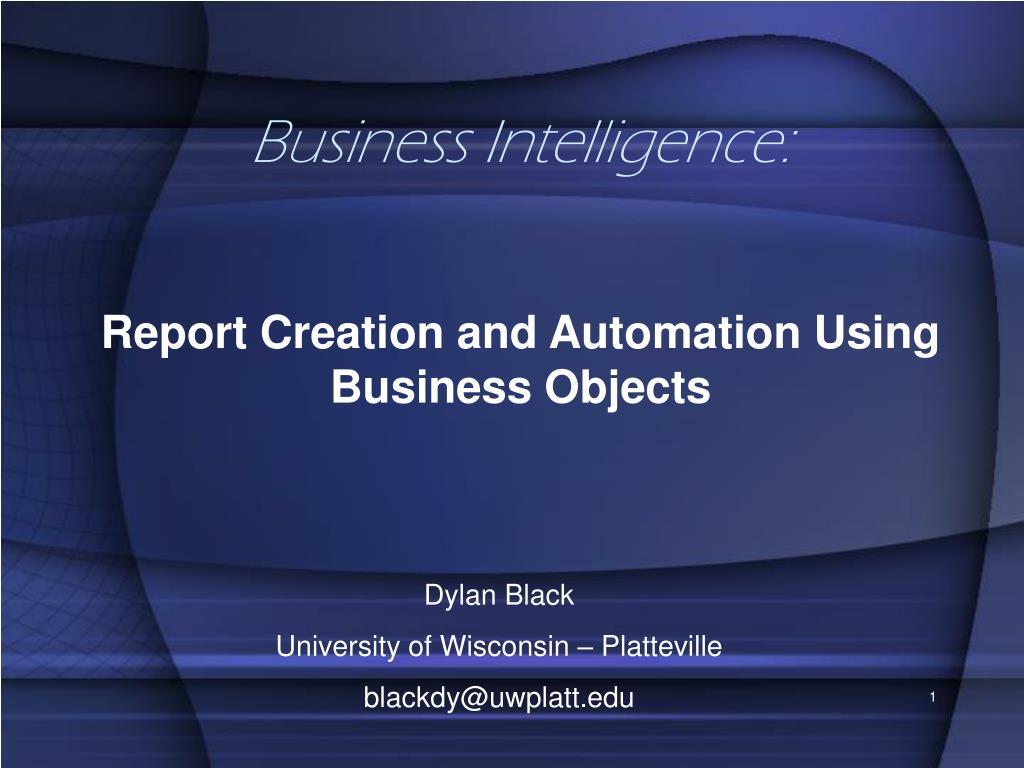 business intelligence l.