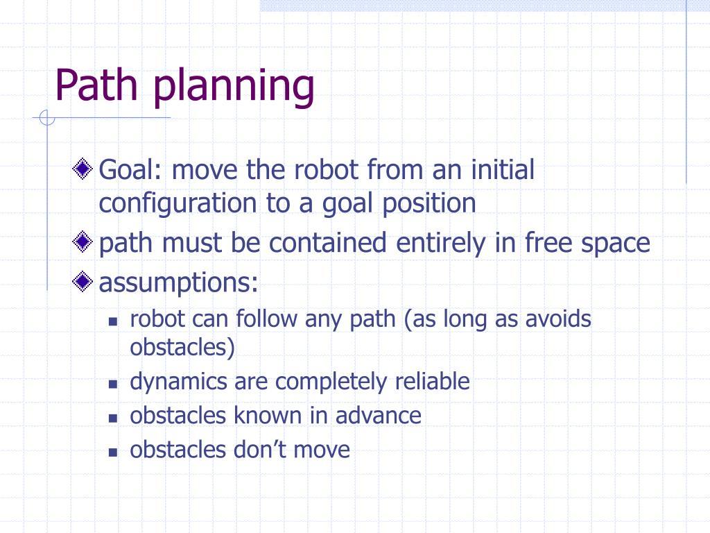 Path planning