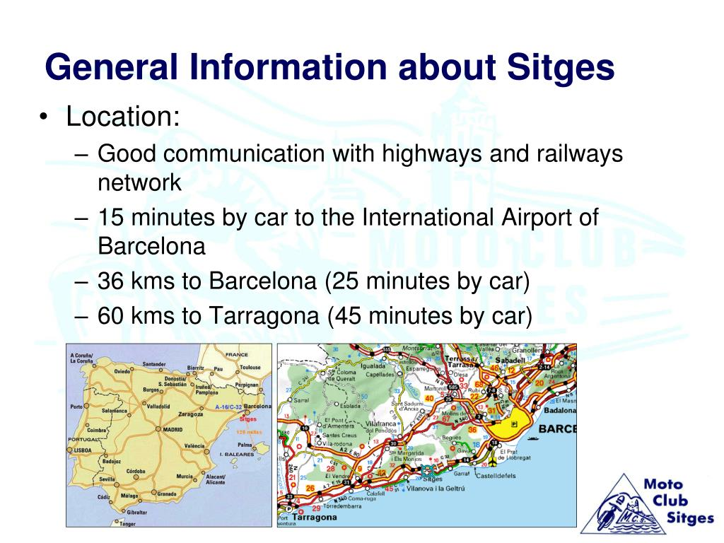 general information about sitges l.