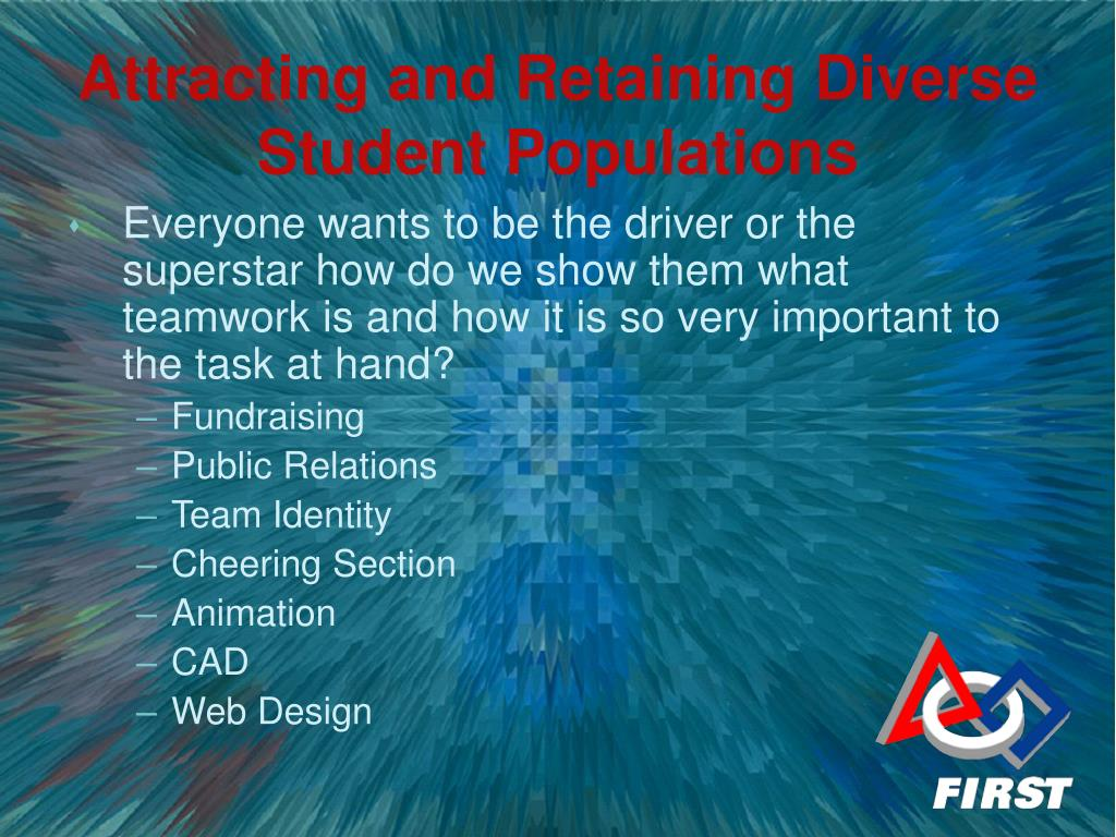 Everyone wants to be the driver or the superstar how do we show them what teamwork is and how it is so very important to the task at hand?