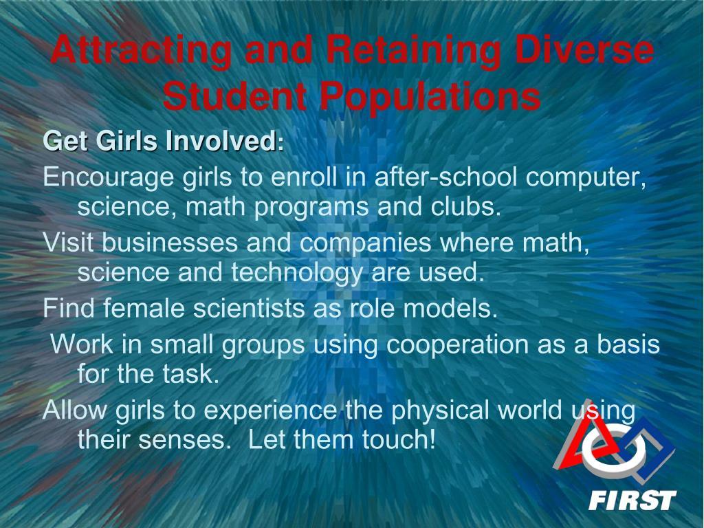 Get Girls Involved