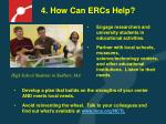 4 how can ercs help