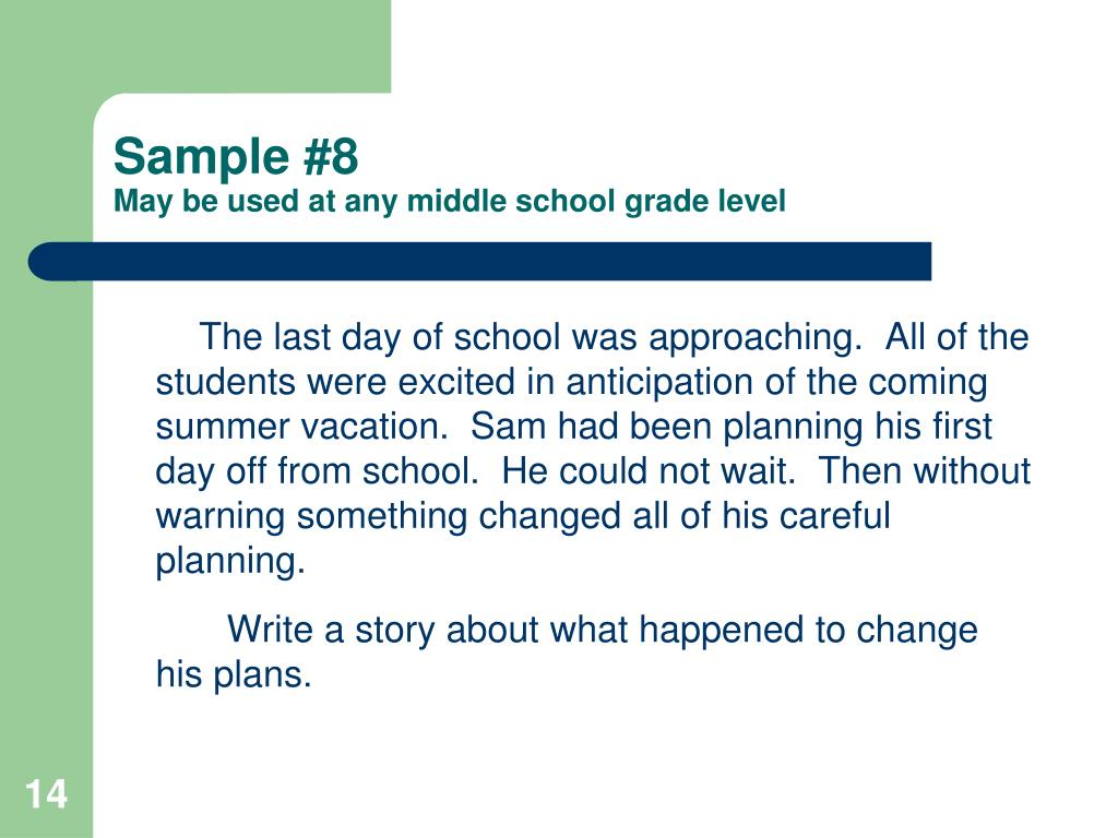 expository essay ideas for middle school