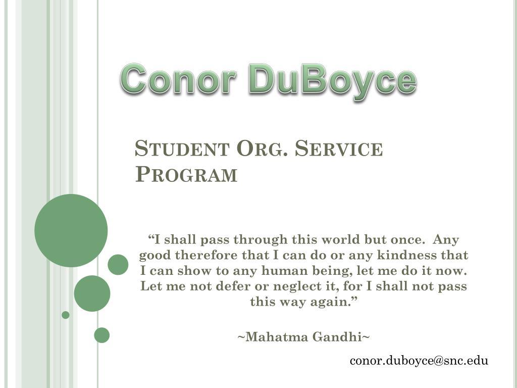 Conor DuBoyce
