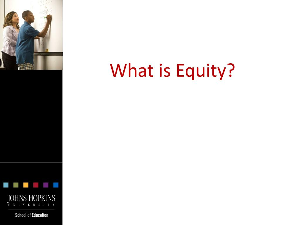 What is Equity?