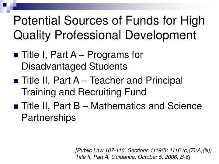 a review of potential teacher development Review of research how leadership influences student learning  human development and those of the  it offers initial teacher education, continuing.