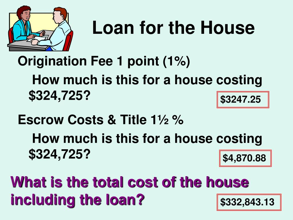 Loan for the House