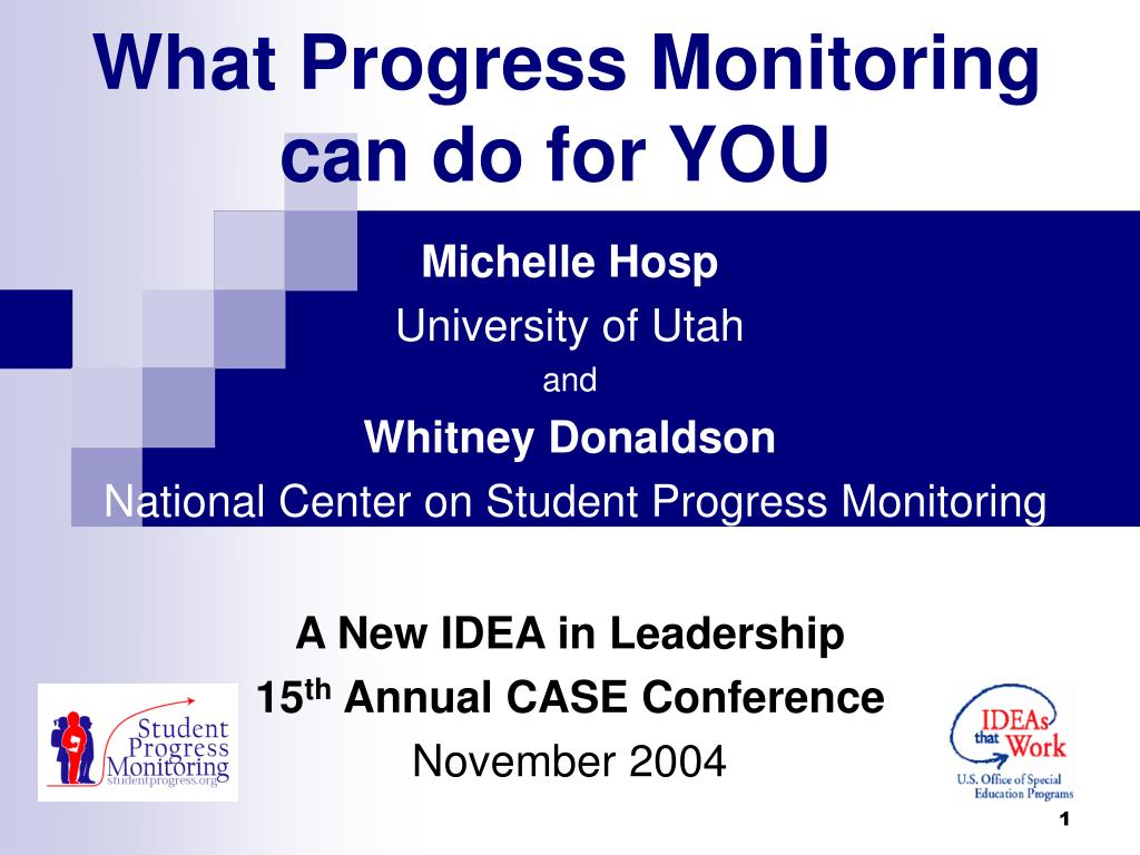 what progress monitoring can do for you l.