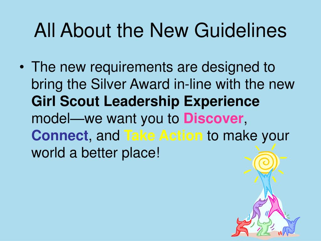 All About the New Guidelines