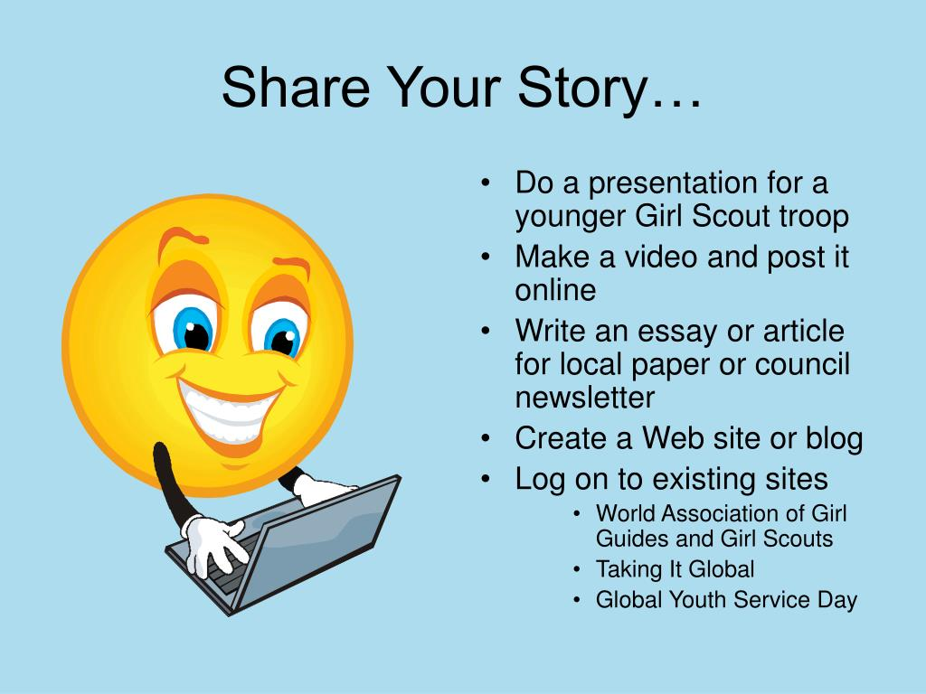 Share Your Story…