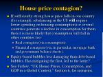 house price contagion