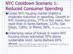 nyc cooldown scenario 1 reduced consumer spending