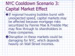 nyc cooldown scenario 3 capital market effect