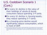 u s cooldown scenario 1 cont